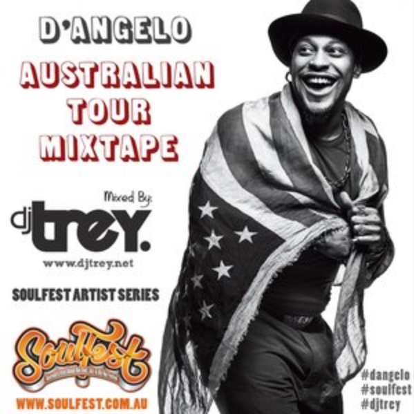 D angelo tour dates in Sydney