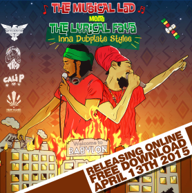The Musical Lad meets The Lyrical Faya inna Dubplate Stylee // free mixtape