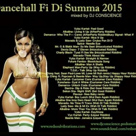 DJ CONSCIENCE presents Dancehall Fi Di Summer 2015 // free podcast