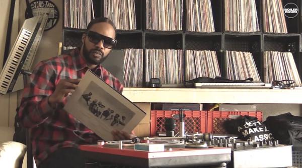 Dām Funk Zeigt Uns Seine Plattensammlung Video Soulguru