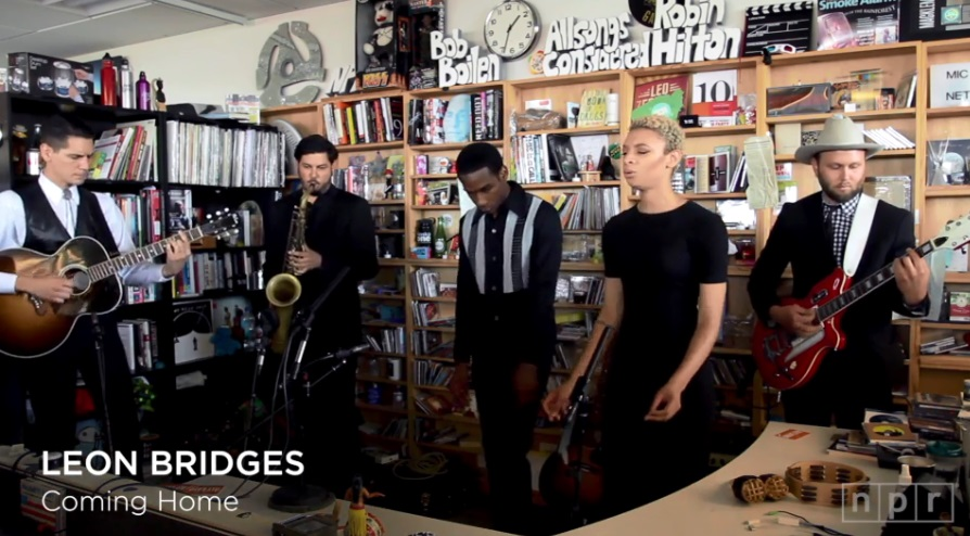 leon bridges tiny desk concert