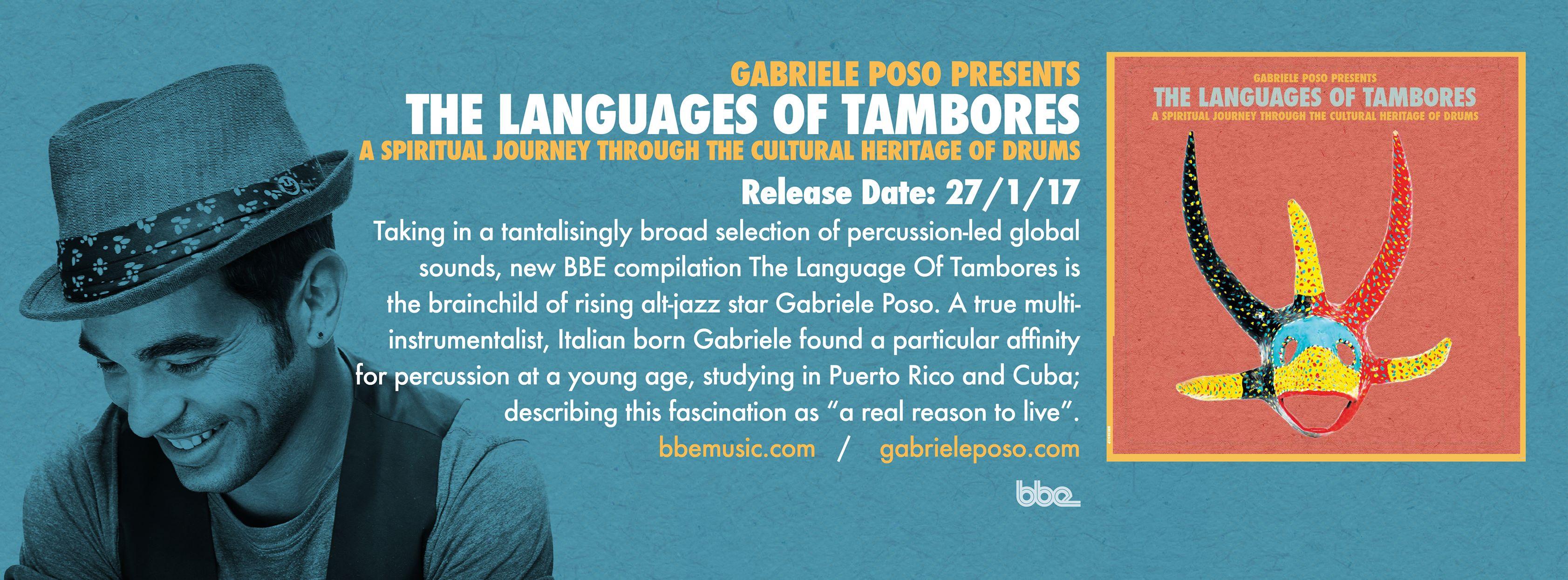 Gabriele Poso presents The Languages of Tambores (Video + full Album stream)