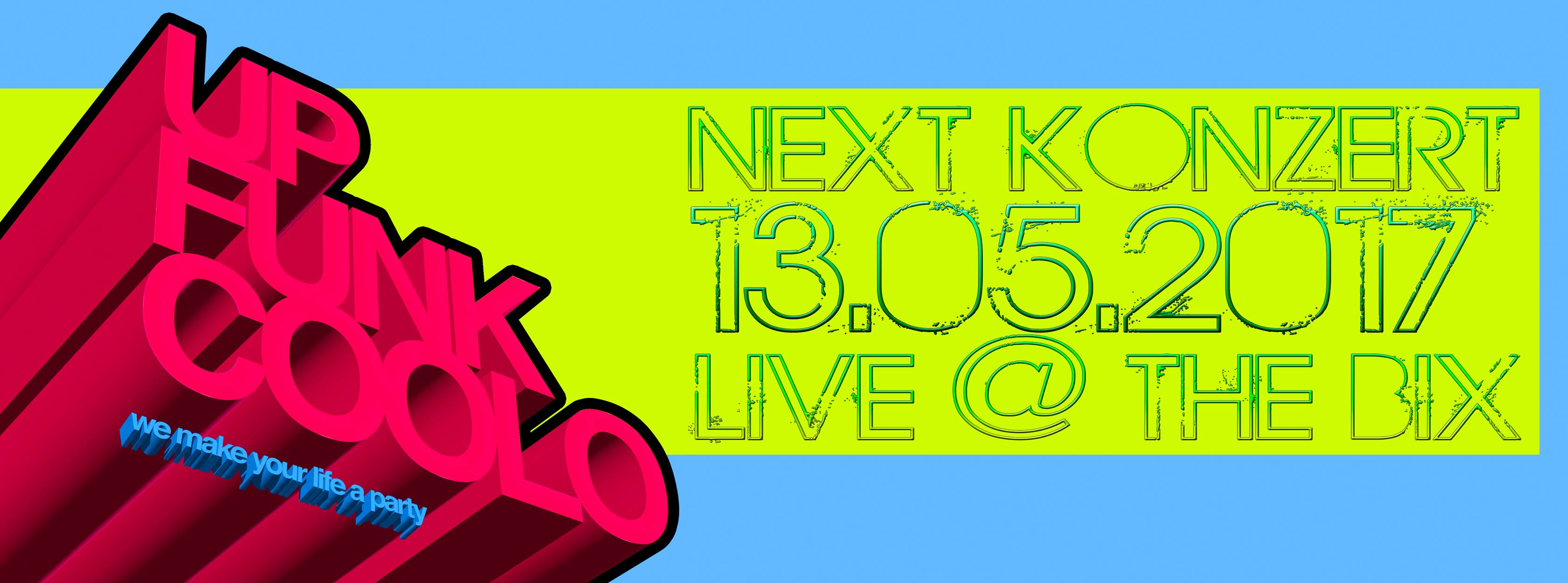 Veranstaltungstipp: Upfunkcoolo LIVE @ The BIX