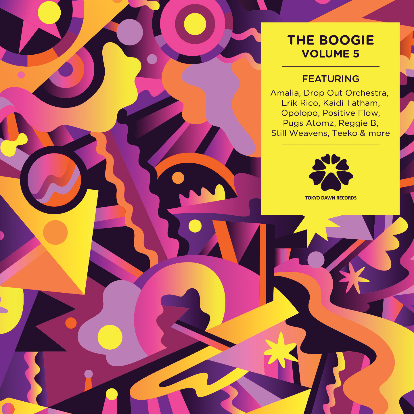 Tokyo Dawn Records – The Boogie Volume 5 // Album snippets
