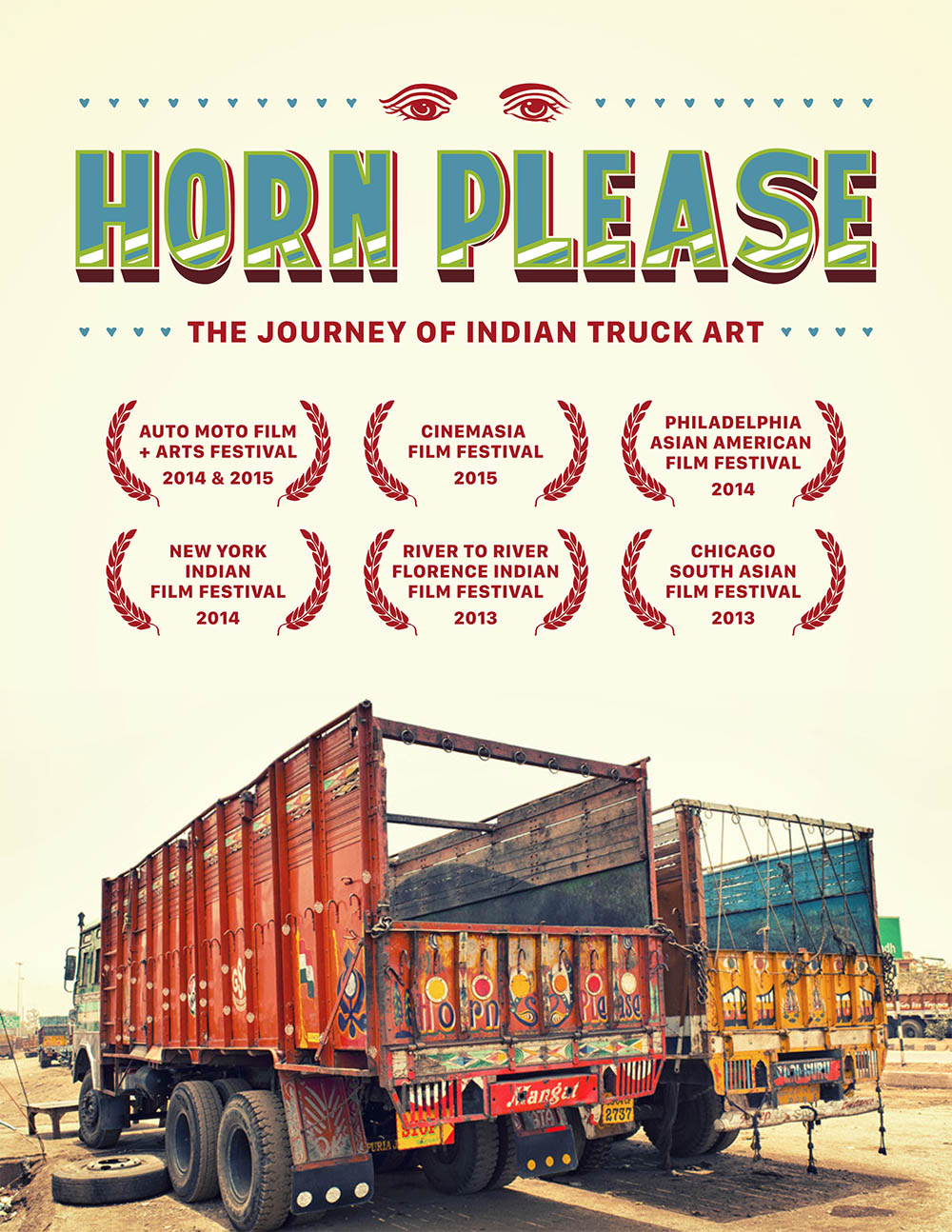 HORN PLEASE - Doku über die traditionelle LKW-Kunst in Indien
