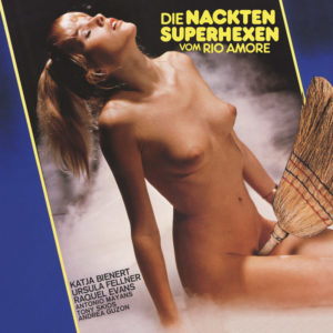 """Jess Franco's """"The Naked Superwitches of the Rio Amore"""" aka """"Die Nackten Superhexen vom Rio Amore"""" Soundtrack (1981) als Vinyl limited Edition"""