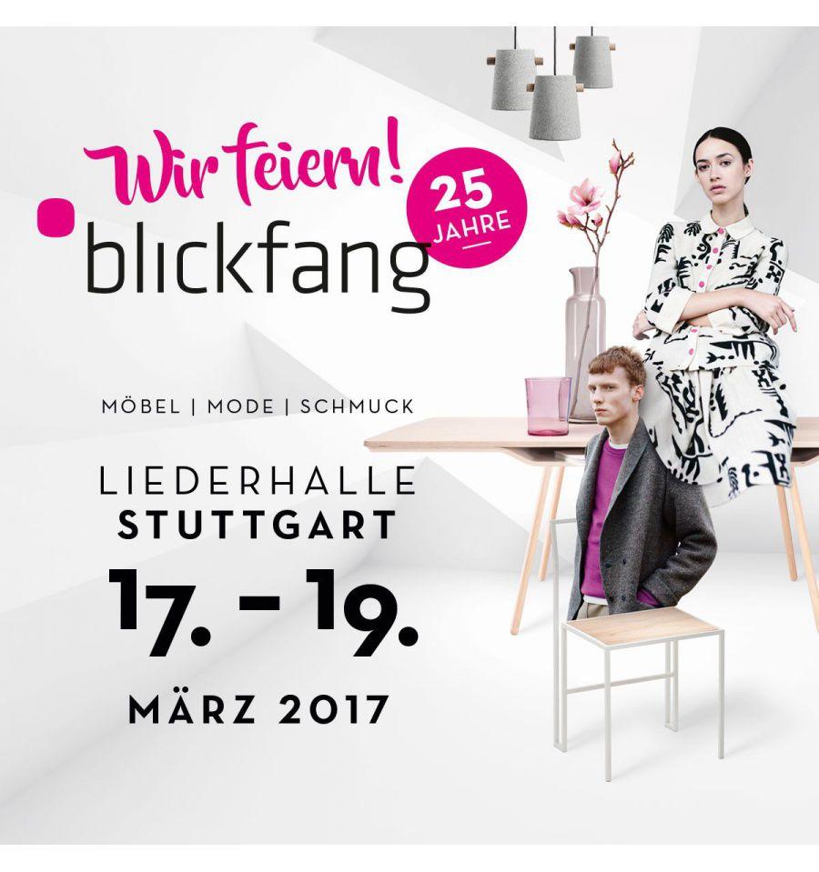 Veranstaltungstipp: Designmesse BLICKFANG Stuttgart vom 17. bis 19. März 2017