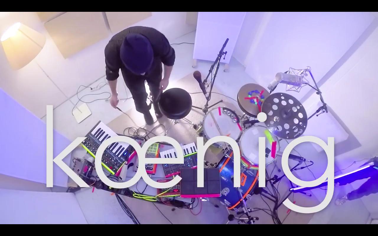 KMPW live sessions #1 kœnig (Video)