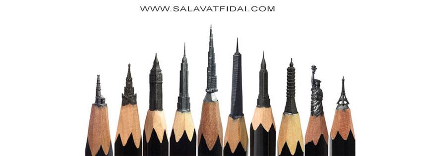 Instagram-Tipp: Carved Pencil Sculptures by Salavat Fidai
