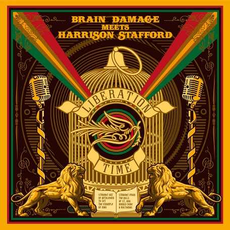 Happy Releaseday: BRAIN DAMAGE meets HARRISON STAFFORD - Liberation Time // Video + full Album stream