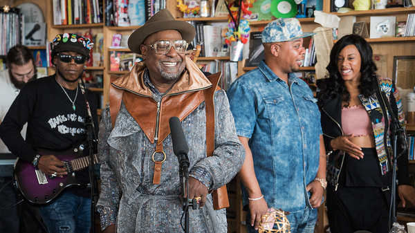 George Clinton & The P-Funk All Stars: Tiny Desk Concert (Video)