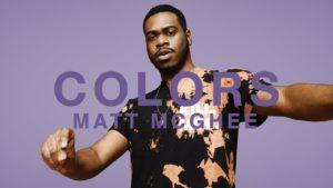 A COLORS SHOW: Matt McGhee - Sweat (Video)