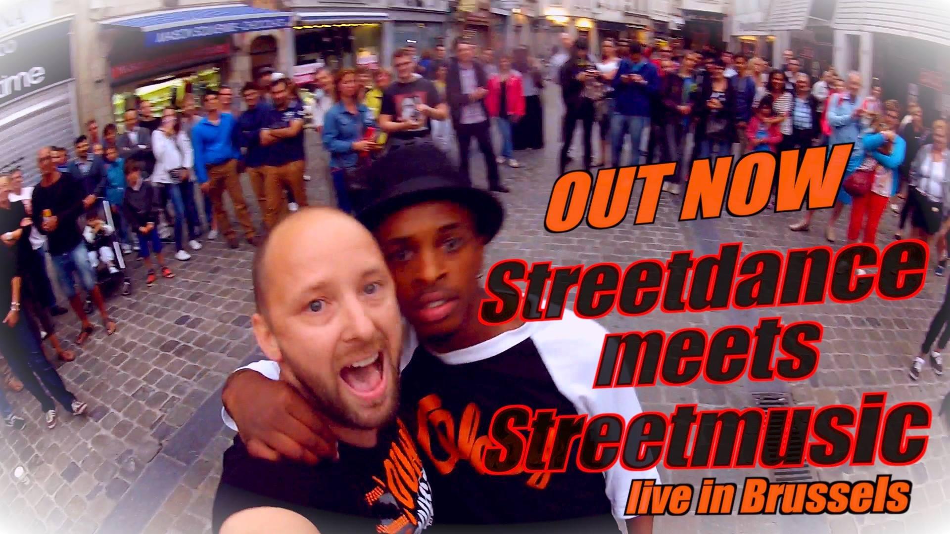 Georg Viktor Emmanuel - STREETDANCE meets STREETMUSIC - live in #Brussels // Video / #findthisdancer
