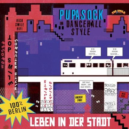 """Pupa Sock veröffentlicht sein Debütalbum """"Leben in der Stadt""""! // full album stream"""