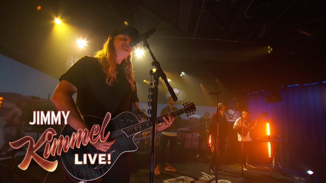 """Dirty Heads mit ihrem Hit """"Celebrate feat. The Unlikely Candidates"""" live bei Jimmy Kimmel (Video)"""