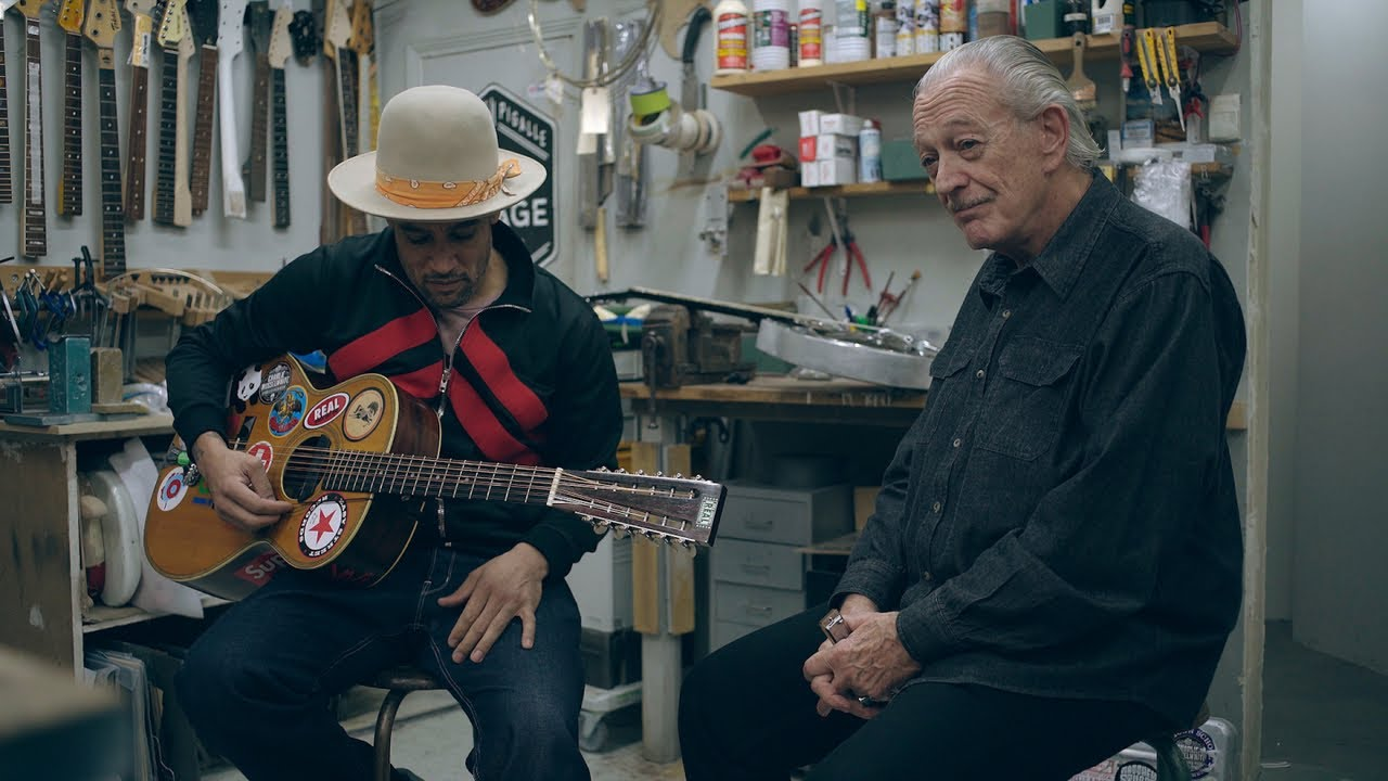 Ben Harper & Charlie Musselwhite - No Mercy In This Land   A Take Away Show   Video