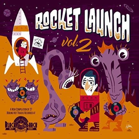 Black Shack Recordings - Rocket Launch Vol.2 (Compilation) [full stream]
