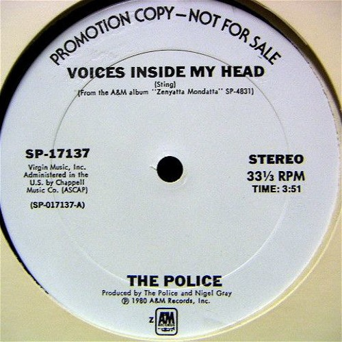 Police - Voices Inside My Head (SoulSeduction Disco Mix)