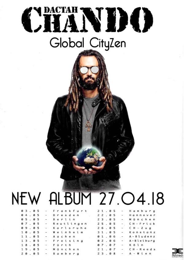 "Mit ""Global CityZen"" dropt Dactah Chando sein nunmehr sechstes Album! // EPK + Video + full album stream + Tourdaten"