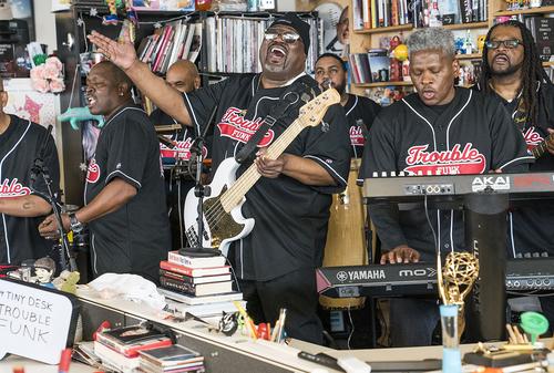 Trouble Funk: Tiny Desk Concert (Video) #npr #tinydesk