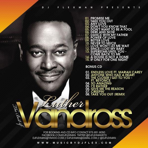 Das Sonntags-Mixtape: DJ FLEXMAN presents The Best of Luther Vandross
