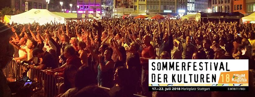 Veranstaltungstipp: Sommerfestival der Kulturen 2018 in Stuttgart!