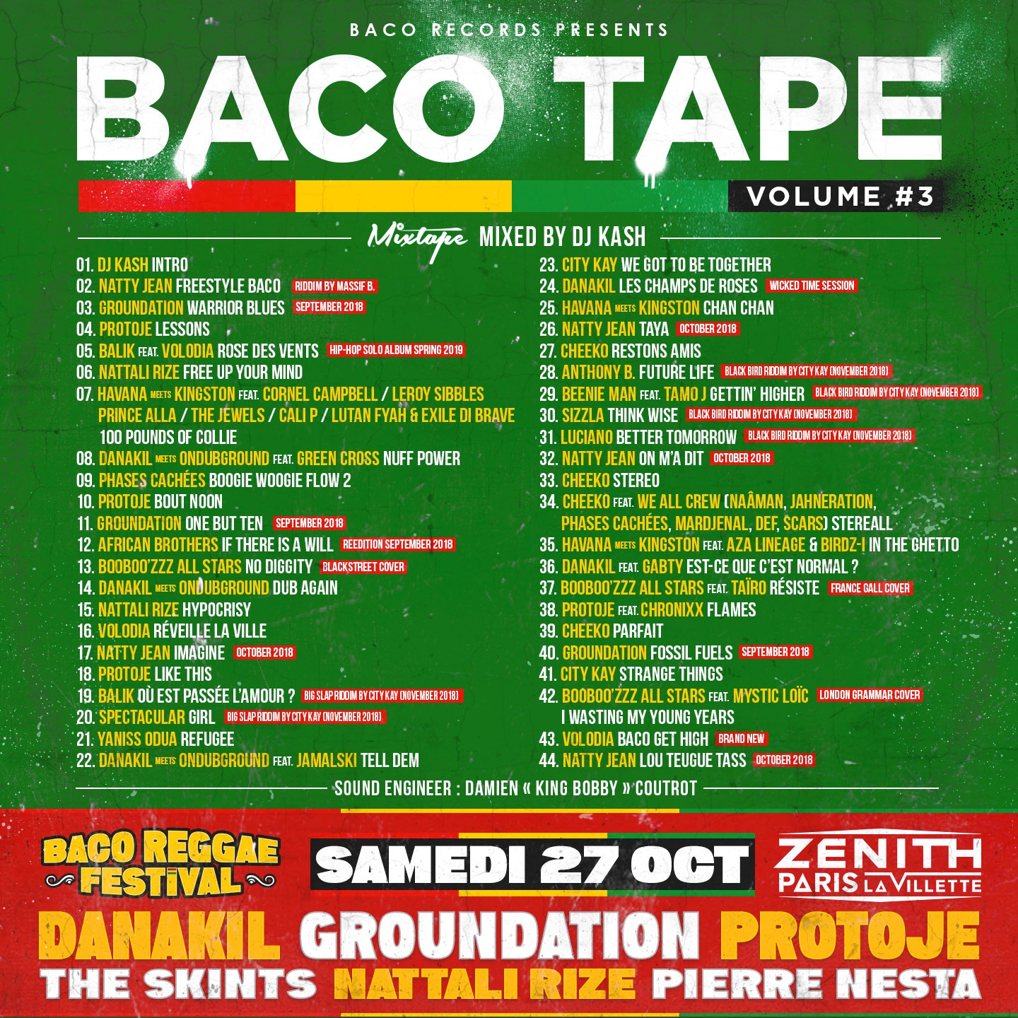 BACO TAPE VOLUME #3 // free download