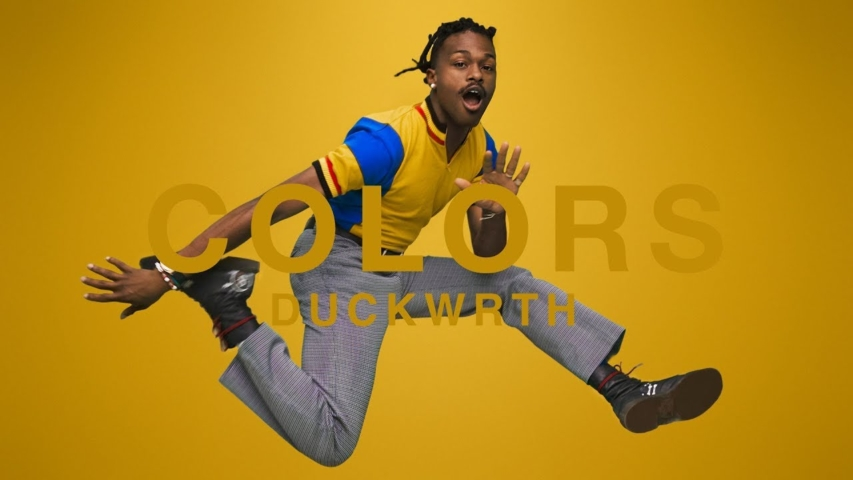 A COLORS SHOW: DUCKWRTH - THROWYOASSOUT (Video)