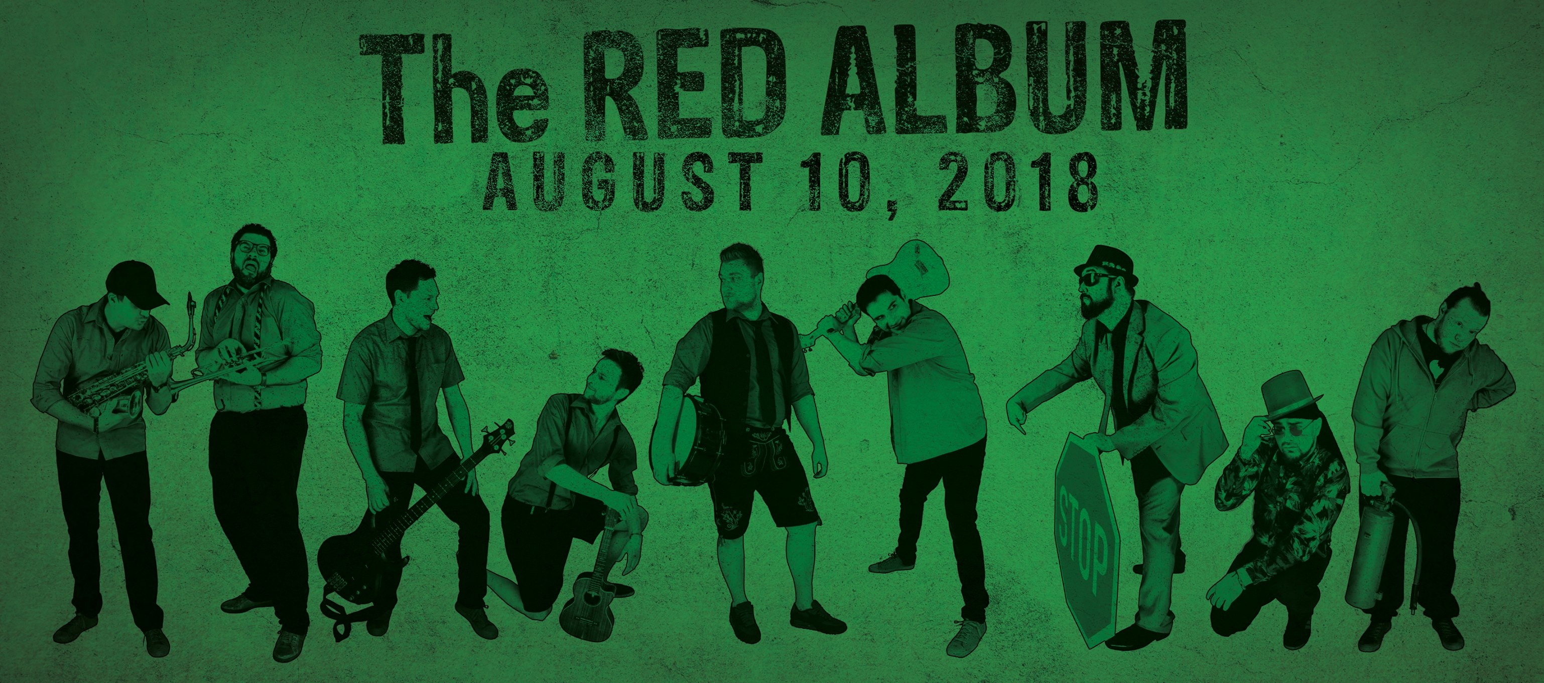 Happy Releaseday: The Unduster - The Red Album // Video + full album stream //  #tra18 #theredalbum