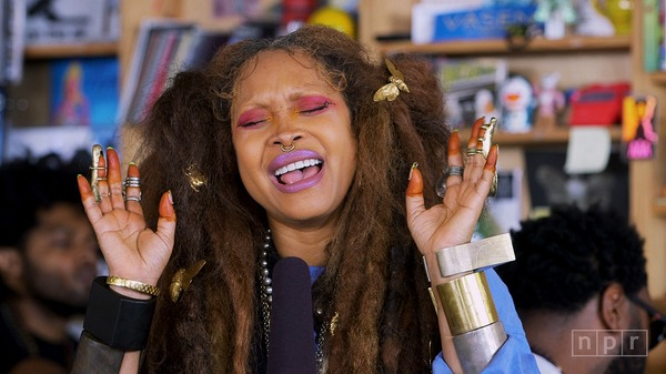 Erykah Badu: Tiny Desk Concert (Video) #npr #tinydesk