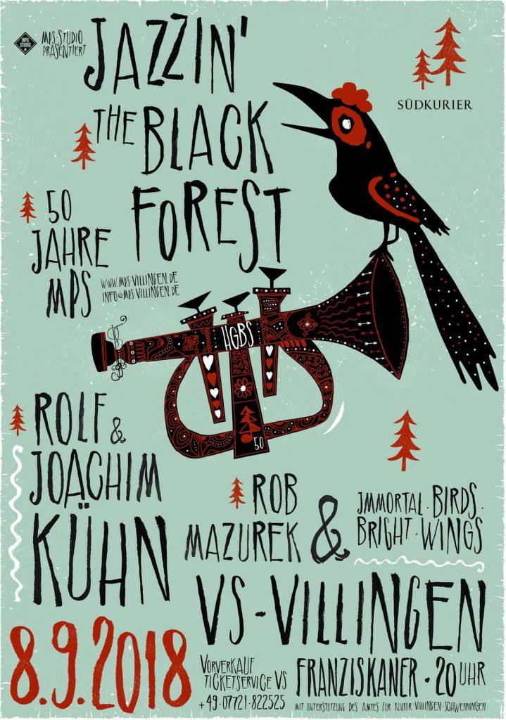 Veranstaltungstipp: 50 Jahre MPS – Jazzin' the Black Forest - 7.-9. September 2018 in VS-Villingen