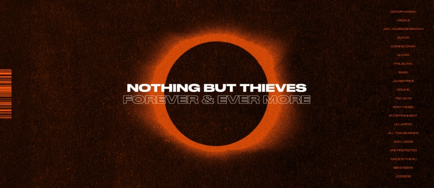 Nothing But Thieves veröffentlichen mit 'Forever & Ever More' ein neues Video und kommen auf Europa-Tournee!