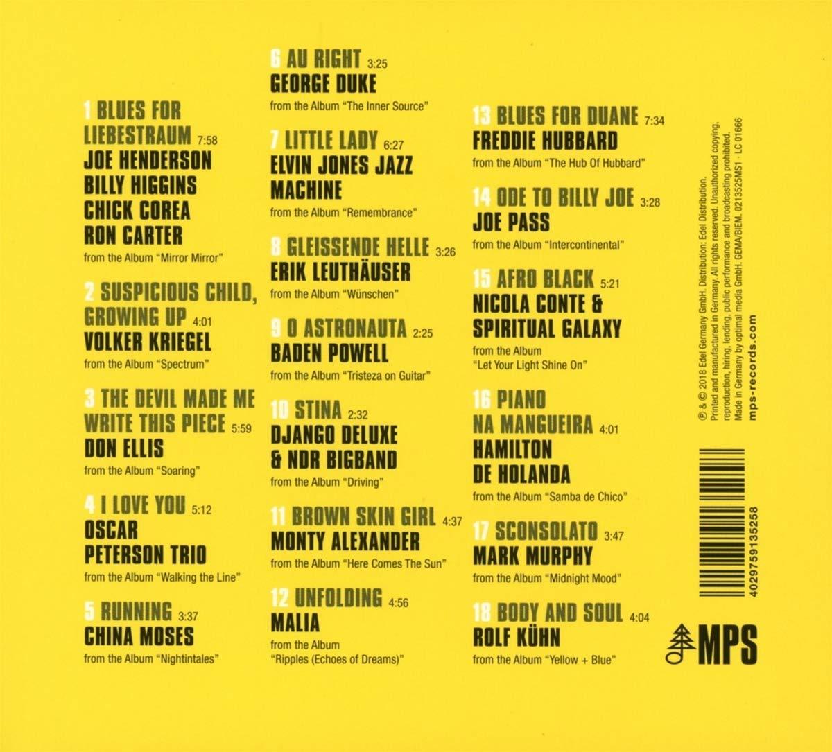 50 Years MPS • Label Compilation zum runden Geburtstag im full stream