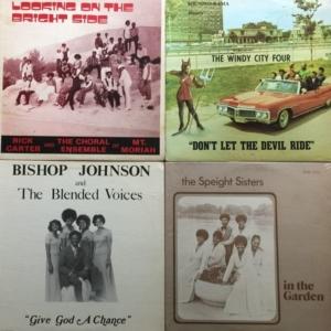 Rare Gospel LPs Mix
