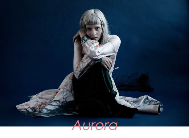"AURORA veröffentlicht ihr zweites Album ""Infections of a Different Kind - Step One"" • full Album stream + 2 Videos + Tourdaten"