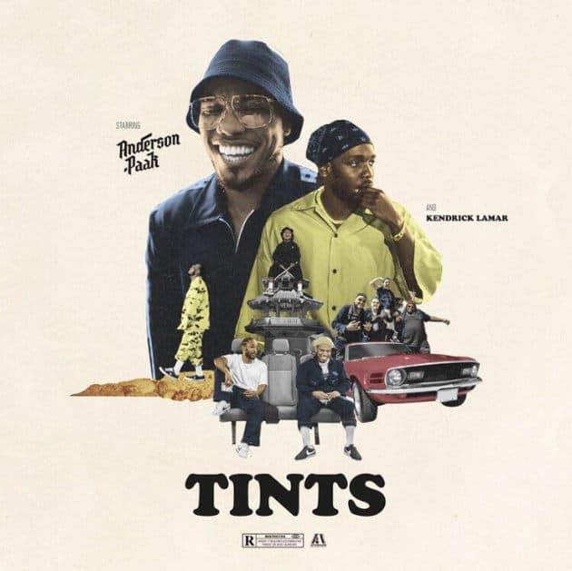 Anderson .Paak feat. Kendrick Lamar - #TINTS (Lyric-Video)