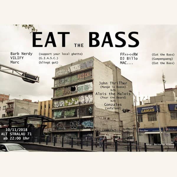 BarbNerdy for EatTheBass Berlin Nov. 2018 [Lets Go Dancing) | free DJ Live Set