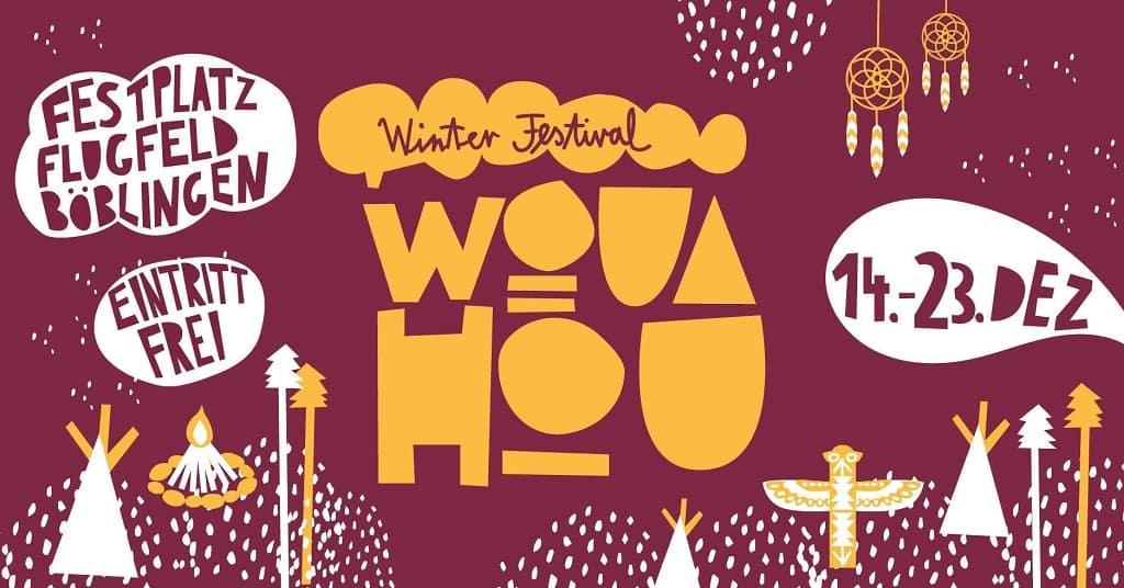 Veranstaltungstipp: WOUAHOU - alternatives Winterdorf und Winter Festival in Stuttgart und Böblingen! Eintritt frei! #wouahou18