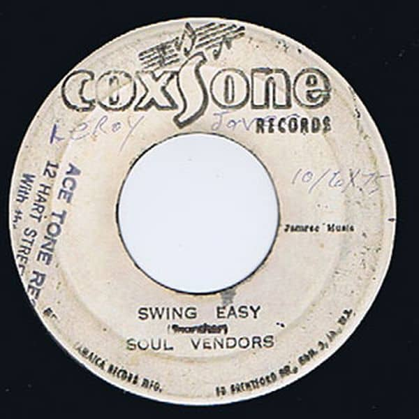 SWING EASY RIDDIM MIX