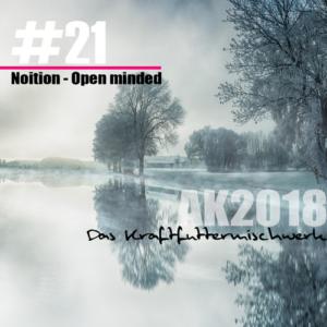 2018 #21: Noition - Open minded • free Mixtape aus dem KFMW AdventsKalender