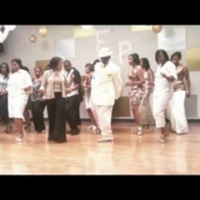 Step and Stomp Line Dance (Video)