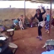 Paddy Cassidy Djembe Solo in Mali (Video)