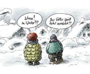 Schnee? Im Winter???