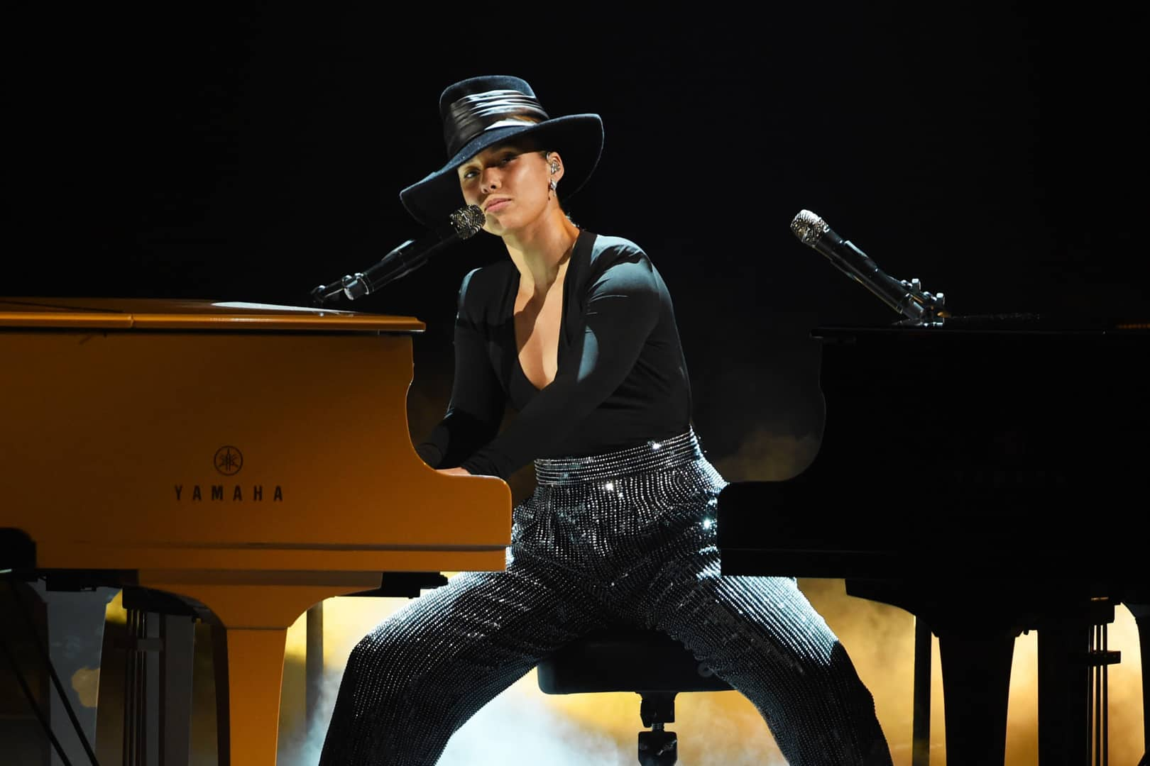 #GRAMMYs 2019: Alicia Keys sings songs she wishes she wrote (Video)