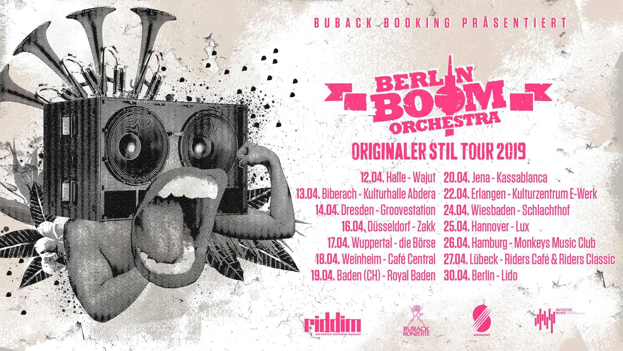 Berlin Boom Orchestra – Reggae Punks • 3 Videos + Album-Stream + Tourdaten