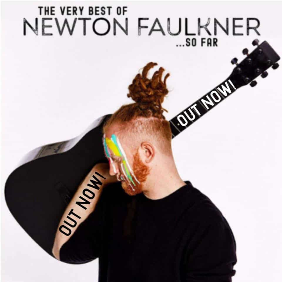 The Very Best of NEWTON FAULKNER ...So Far • 2 Videos + album-Stream + Tourdaten